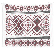 Printed Knit Leggings geometric design ornament style legging Wall Tapestry