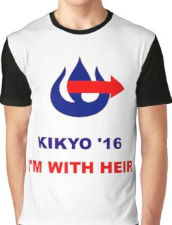 Kikyo for President Graphic T-Shirt