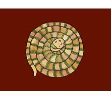 Sleeping Snakeman - Spirit Animal Photographic Print
