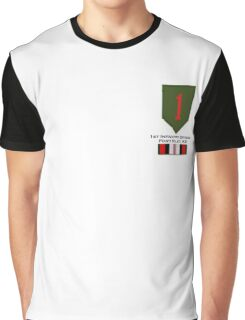 1st Infantry Afghanistan Graphic T-Shirt