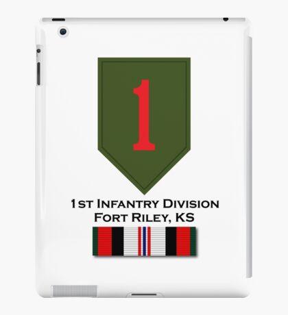 1st Infantry Afghanistan iPad Case/Skin
