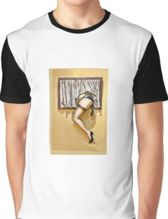 Window girl Graphic T-Shirt