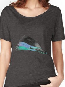 Common Dolphin (version turquoise/purple) Women's Relaxed Fit T-Shirt