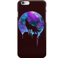 Wolf under the Moonlight  iPhone Case/Skin