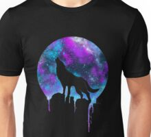 Wolf under the Moonlight  Unisex T-Shirt