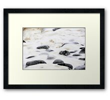 Whipped Cream and Chocolate Chips Framed Print