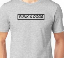 Punk and Dogs Transparent Unisex T-Shirt