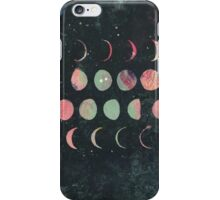 colored moon iPhone Case/Skin