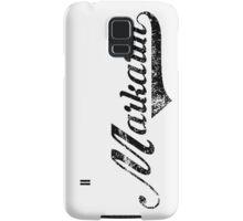 Skyrim Markarth Distressed Sports Lettering Samsung Galaxy Case/Skin
