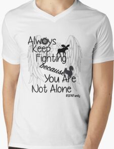 Supernatural Campaigns Mens V-Neck T-Shirt
