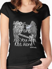 Supernatural Campaigns Women's Fitted Scoop T-Shirt