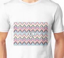 E Chevrony Unisex T-Shirt