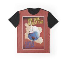 New York World fair 1939 Travel Ad  Graphic T-Shirt