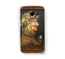 Vegetable face Samsung Galaxy Case/Skin