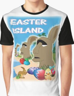 Easter Island Graphic T-Shirt