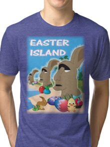 Easter Island Tri-blend T-Shirt