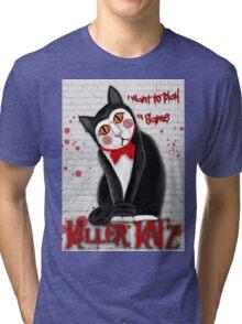 Hello Katz Tri-blend T-Shirt