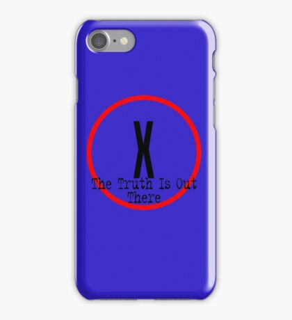The X Files - Truth is out there iPhone Case/Skin
