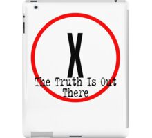 The X Files - Truth is out there iPad Case/Skin