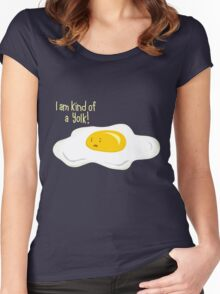 Kind of ... Women's Fitted Scoop T-Shirt