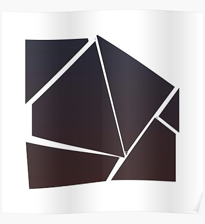 Minimalist Destruction - Square Poster