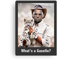 What's a Gazelle? Canvas Print
