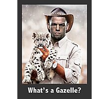 What's a Gazelle? Photographic Print