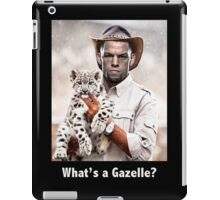 What's a Gazelle? iPad Case/Skin
