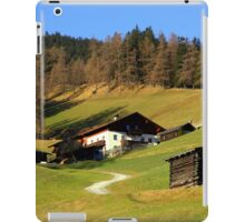 Winter in Austria  iPad Case/Skin