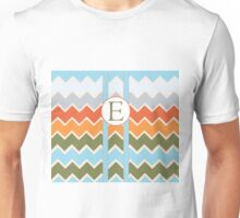 E Chevron Unisex T-Shirt