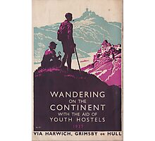 Vintage Travel Poster Photographic Print