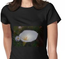 Icy Calla Womens Fitted T-Shirt