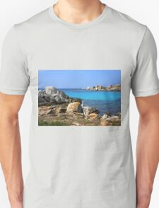 Rocks and water Unisex T-Shirt