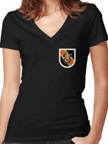 5th Special Forces Vietnam Women's Fitted V-Neck T-Shirt
