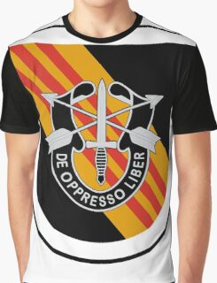 5th Special Forces Vietnam Graphic T-Shirt