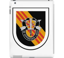 5th Special Forces Vietnam iPad Case/Skin