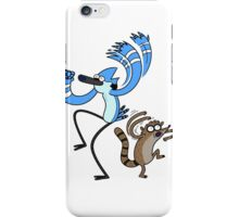Regular show - Mordecai and Rigby iPhone Case/Skin