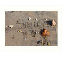 Beach Smile Art Print