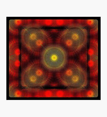 the matrix of converging spirals  Photographic Print