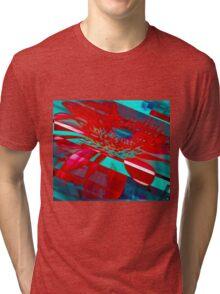 Hyper Flower Power Tri-blend T-Shirt