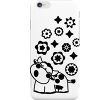 Black & White Cow iPhone Case/Skin