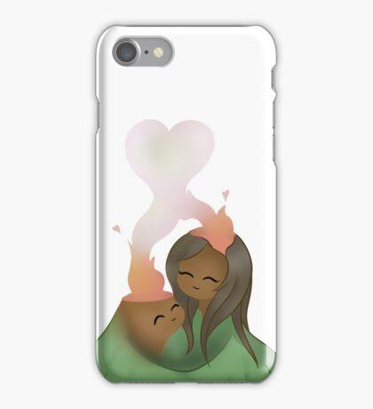 I Lava you - Volcanoes  iPhone Case/Skin