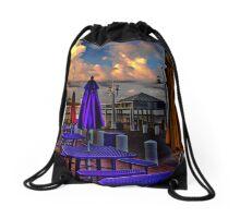 Everning in St. Petersburg , FL Drawstring Bag