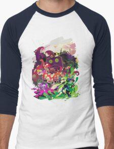 splatoon hero octo valley Men's Baseball ¾ T-Shirt