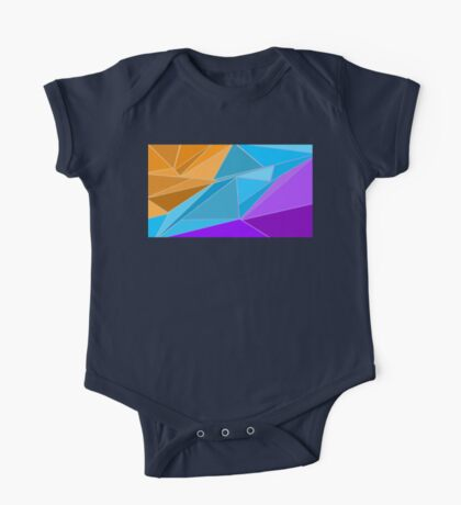 Poly Sunset One Piece - Short Sleeve