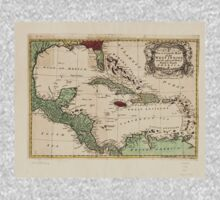 American Revolutionary War Era Maps 1750-1786 135 A new & accurate map of the West Indies and the adjacent parts of North & South America One Piece - Long Sleeve