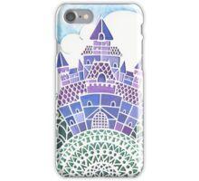 Fairytale Castle papercut iPhone Case/Skin