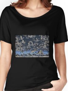 Freezing Frenzy Women's Relaxed Fit T-Shirt