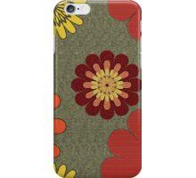 Rusty Blooms iPhone Case/Skin