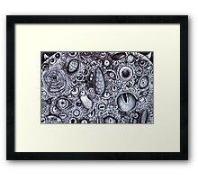 Wazowski with Every Eye Framed Print